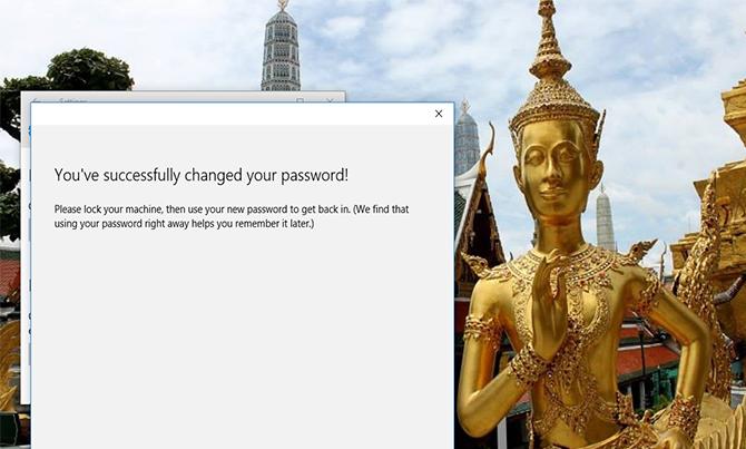 Cách thay đổi mật khẩu Password đăng nhập Windows 10 9