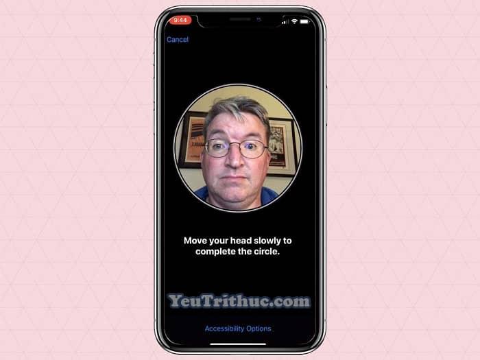 Cách sử dụng Face ID nhận diện khuôn mặt trên iPhone XS, XR 4