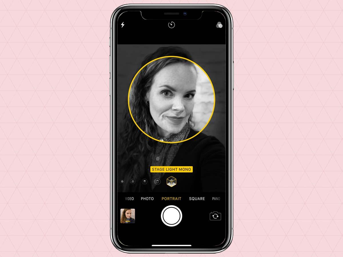 Cách sử dụng chế độ chân dung Portrait Mode trên iPhone XS, XR 1