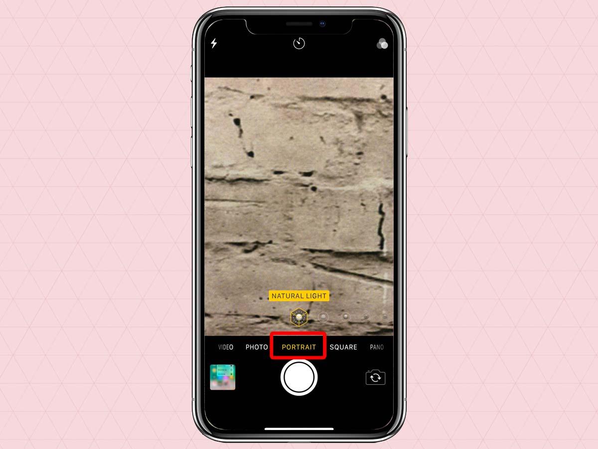 Cách sử dụng chế độ chân dung Portrait Mode trên iPhone XS, XR 3