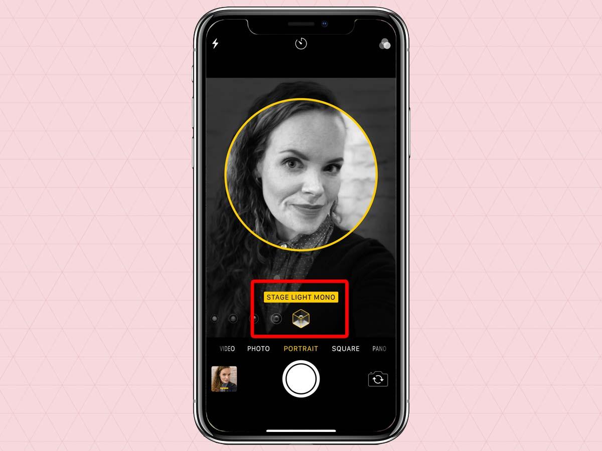 Cách sử dụng chế độ chân dung Portrait Mode trên iPhone XS, XR 5