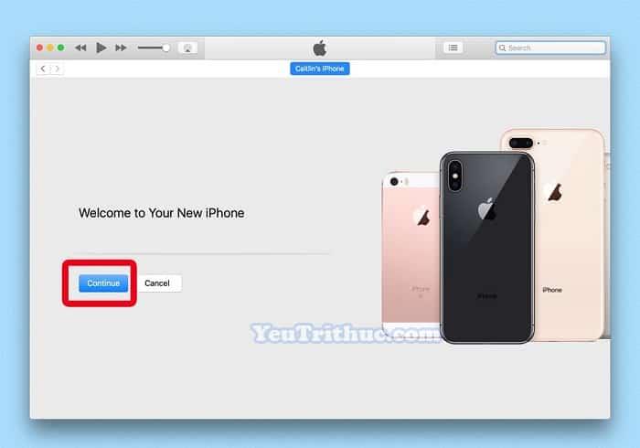 Restore dữ liệu từ iTunes, iCloud trên iPhone XS, XS Max và XR 4