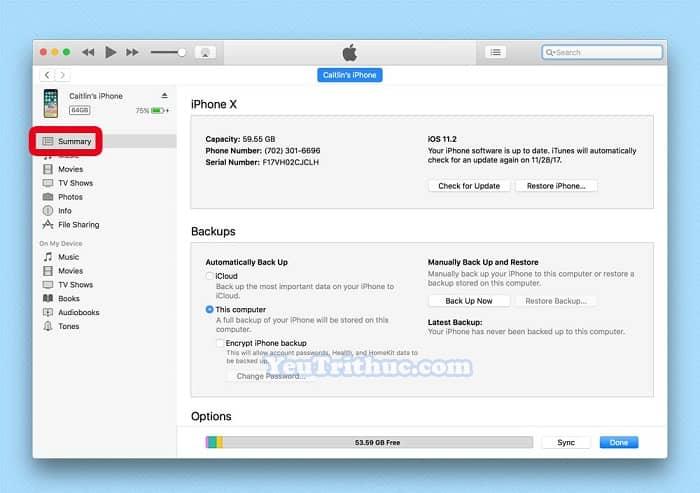 Restore dữ liệu từ iTunes, iCloud trên iPhone XS, XS Max và XR 5