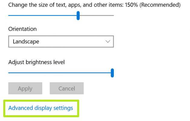 Cách điều chỉnh, thay đổi độ phân giải màn hình trên Windows 10 4