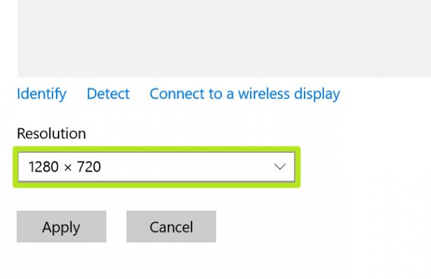 Cách điều chỉnh, thay đổi độ phân giải màn hình trên Windows 10 5