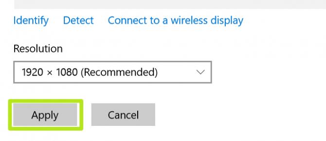 Cách điều chỉnh, thay đổi độ phân giải màn hình trên Windows 10 7