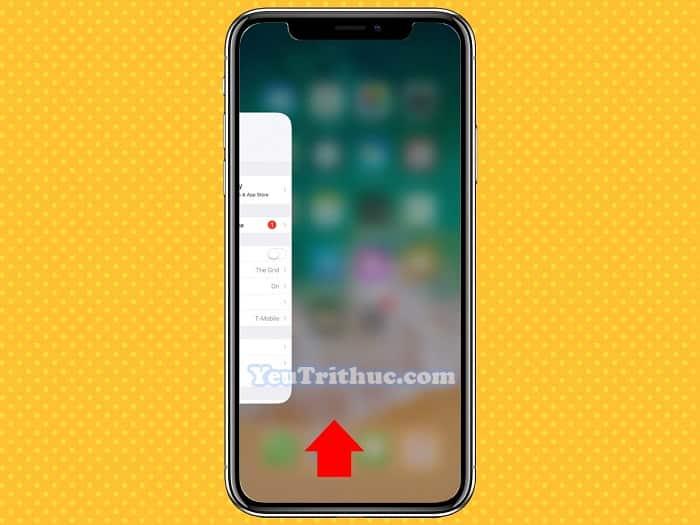 Cách chuyển nhanh giữa các ứng dụng trên iPhone XS, XR, iPhone X 2