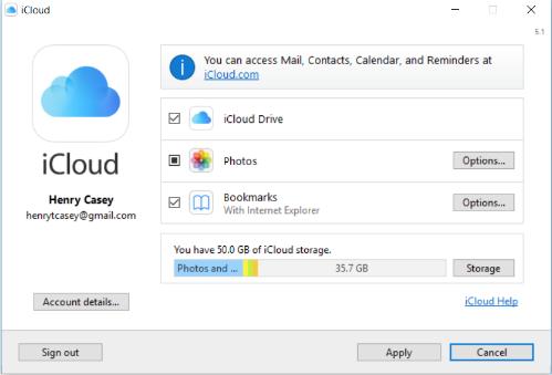 Cách sao lưu, đồng bộ hóa dữ liệu từ iPhone sang Windows 10 7