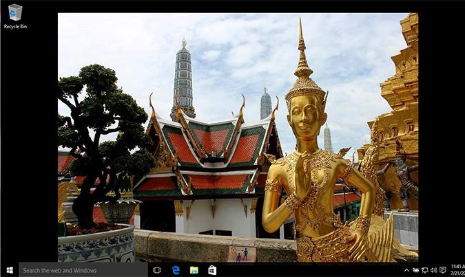 Cách thay đổi hình nền Background Desktop trên Windows 10 1