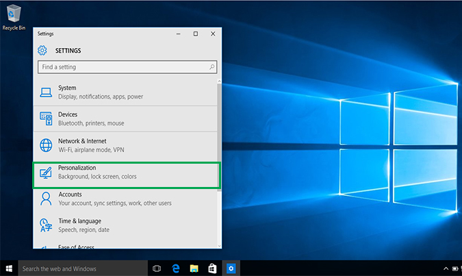 Cách thay đổi hình nền Background Desktop trên Windows 10 4