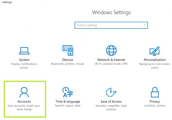 Cách đồng bộ hóa thiết lập cài đặt Sync Settings trên Windows 10 3