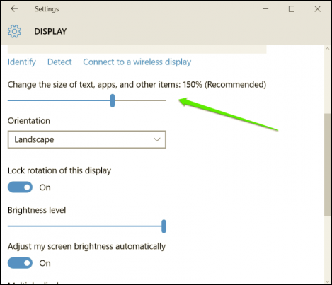 Cách thay đổi kích thước biểu tượng icon ứng dụng trên Windows 10 12