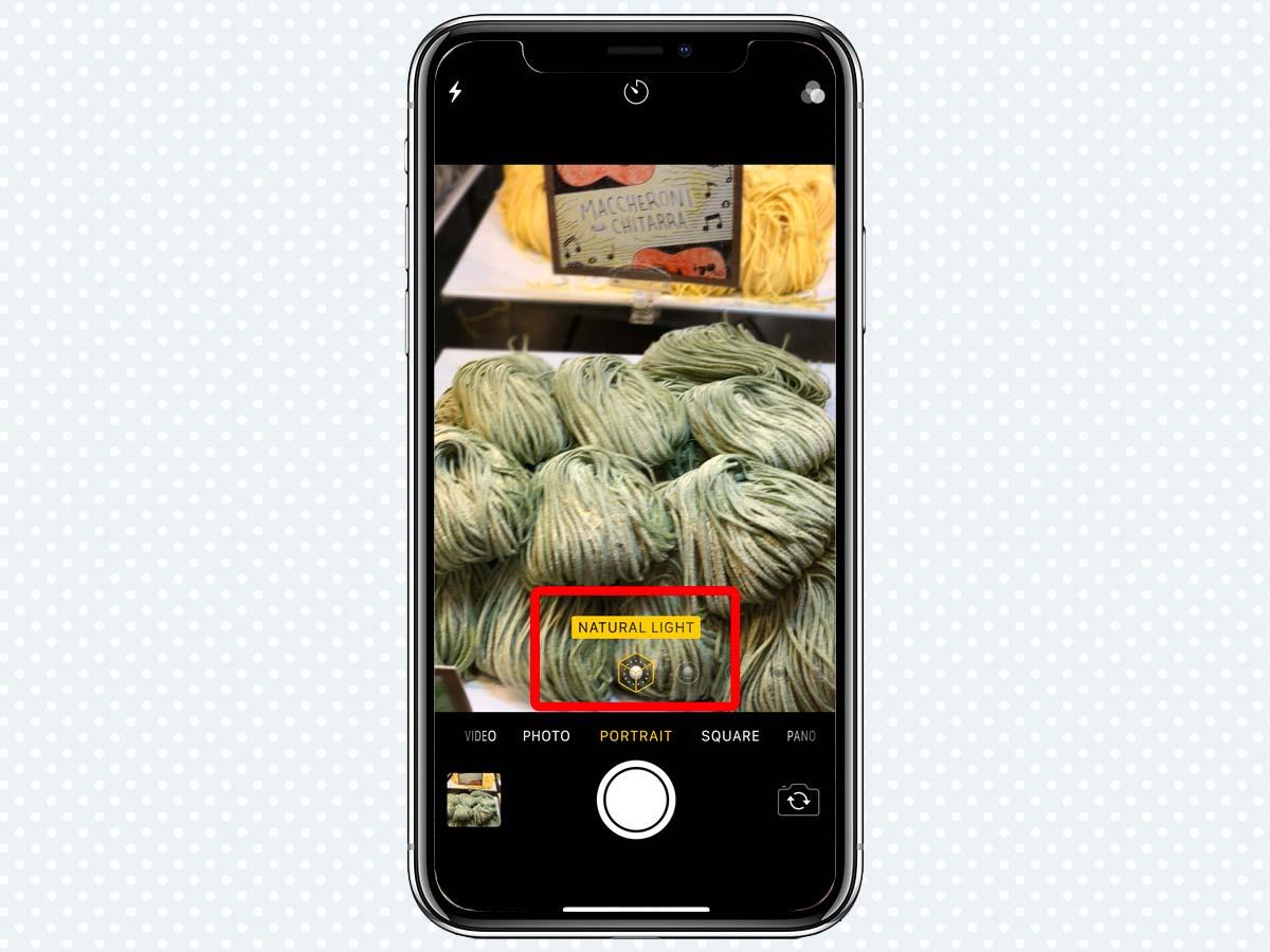 Hiệu ứng ánh sáng Portrait Lighting Effects trên iPhone XS, XR 4