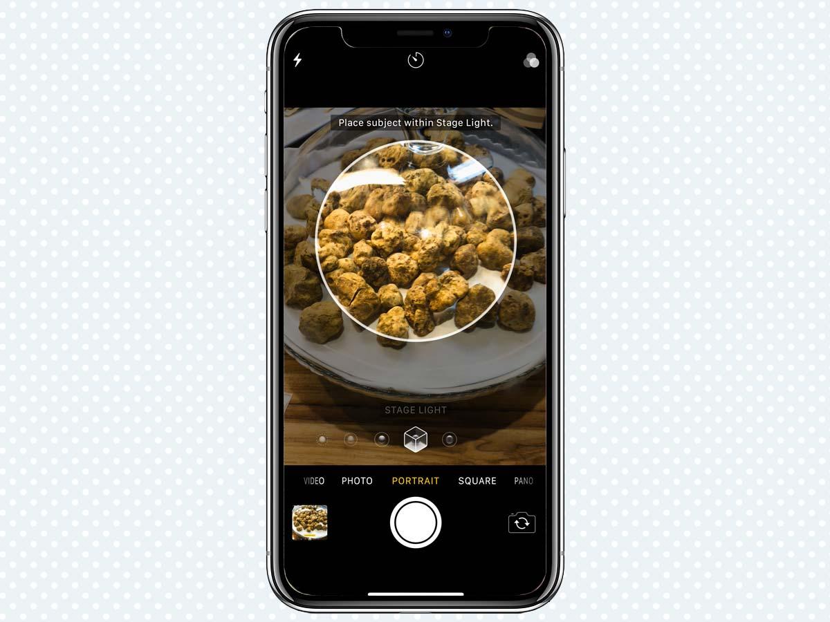 Hiệu ứng ánh sáng Portrait Lighting Effects trên iPhone XS, XR 5