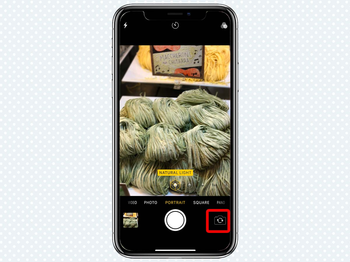 Hiệu ứng ánh sáng Portrait Lighting Effects trên iPhone XS, XR 6