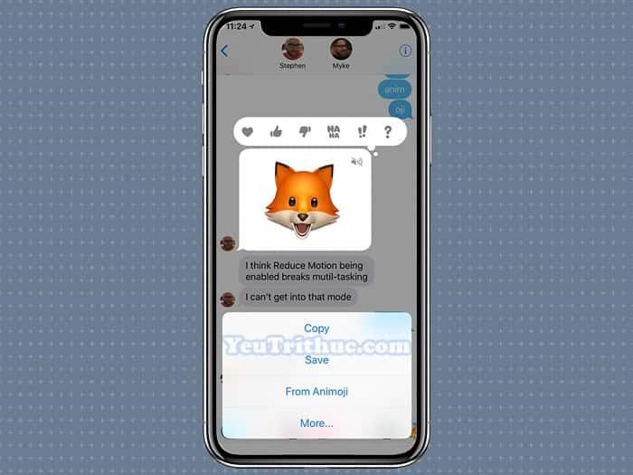 Cách sử dụng Animoji và Memoji trên iPhone XS, XR và iPhone X 15
