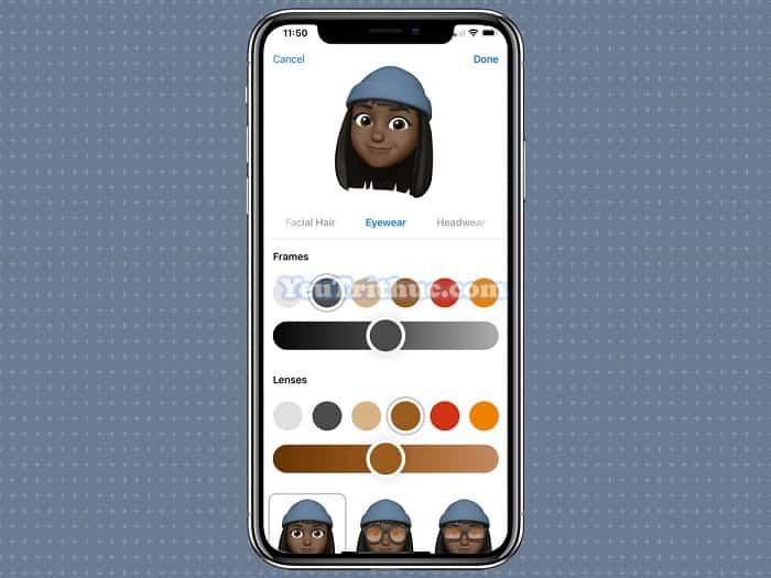 Cách sử dụng Animoji và Memoji trên iPhone XS, XR và iPhone X 7
