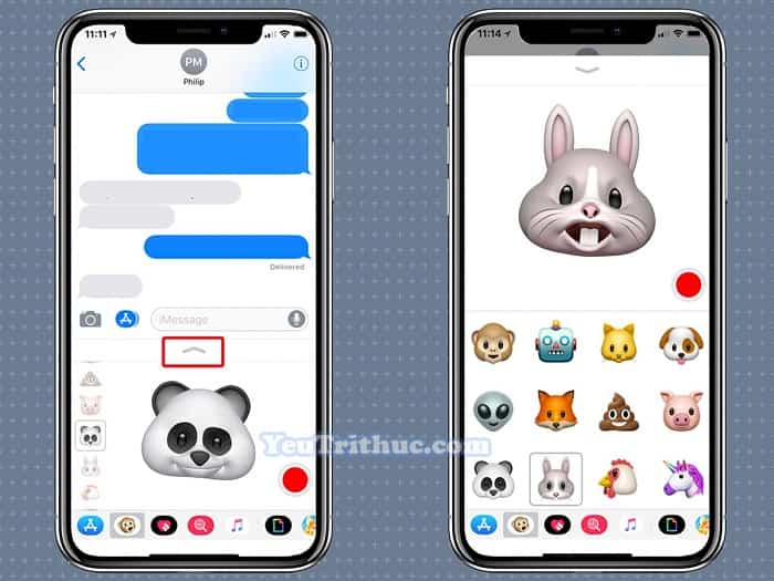 Cách sử dụng Animoji và Memoji trên iPhone XS, XR và iPhone X 8