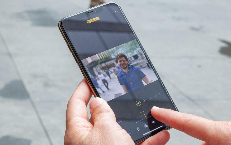 Cách sử dụng Depth Control trên camera iPhone XS, XS Max, XR 1
