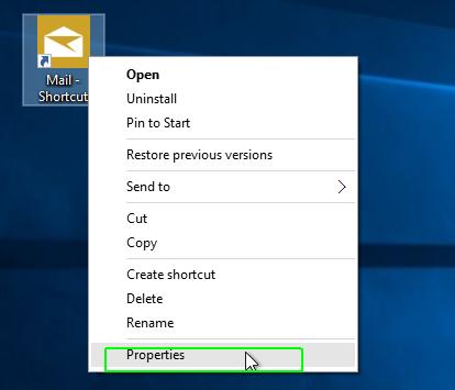 Cách tự tạo phím tắt tùy chỉnh trong Windows 10 mở ứng dụng 5
