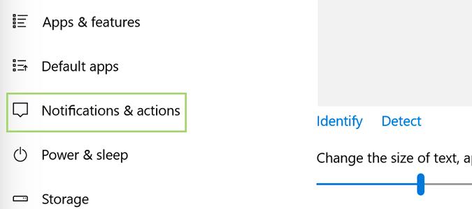 Cách tắt thông báo Notifications trên máy tính Win 10 4