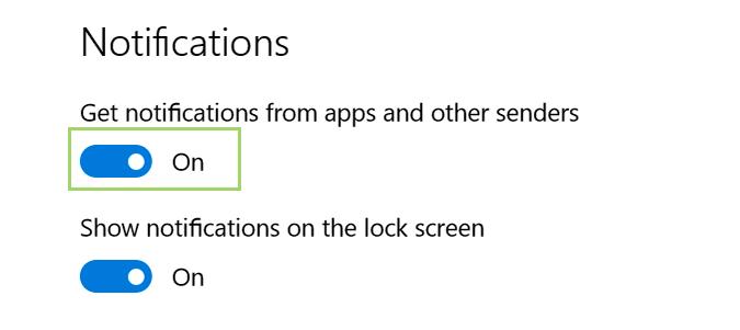 Cách tắt thông báo Notifications trên máy tính Win 10 5
