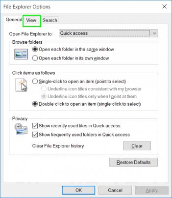 Những thiết lập cài đặt mặc định trên Windows 10 13