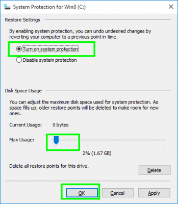 Những thiết lập cài đặt mặc định trên Windows 10 4