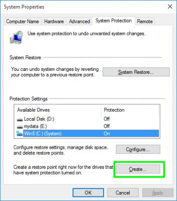 Những thiết lập cài đặt mặc định trên Windows 10 5
