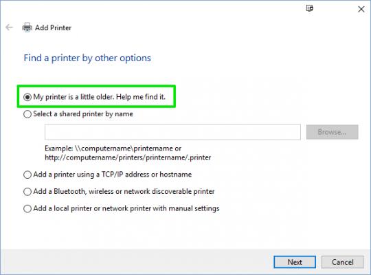 Cách cài đặt kết nối, thêm máy in vào máy tính Windows 10 6