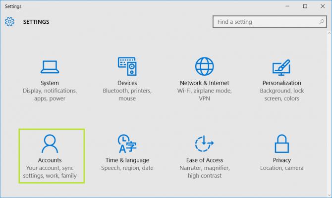 Cách thêm mới tài khoản Windows 10 cho trẻ em và người lớn 2