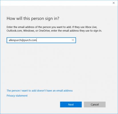 Cách thêm mới tài khoản Windows 10 cho trẻ em và người lớn 5