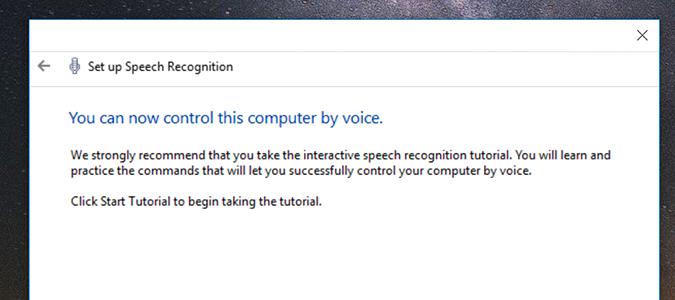 Cách cài đặt, kích hoạt Speech Recognition điều khiển giọng nói trên Windows 10 0
