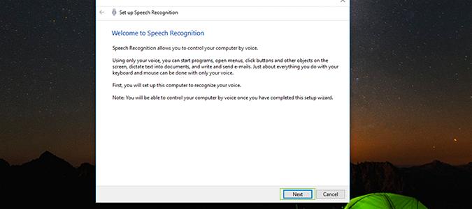 Cách cài đặt, kích hoạt Speech Recognition điều khiển giọng nói trên Windows 10 2