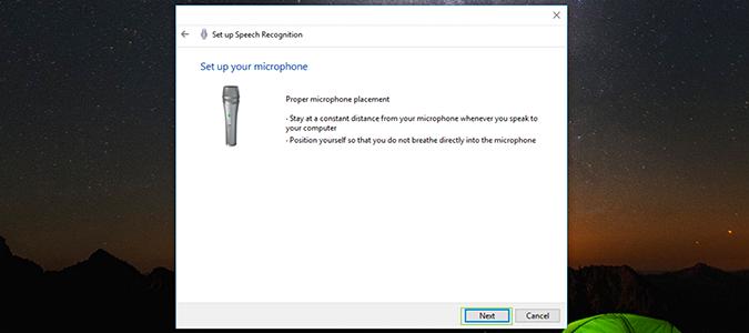 Cách cài đặt, kích hoạt Speech Recognition điều khiển giọng nói trên Windows 10 4