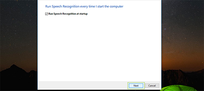Cách cài đặt, kích hoạt Speech Recognition điều khiển giọng nói trên Windows 10 9