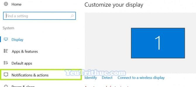 Cách tùy chỉnh Action Center trên Windows 10 truy cập nhanh tác vụ 5