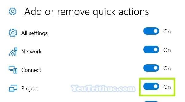 Cách tùy chỉnh Action Center trên Windows 10 truy cập nhanh tác vụ 8