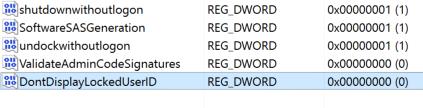 Cách ẩn tên và địa chỉ email trên màn hình login Windows 10 12