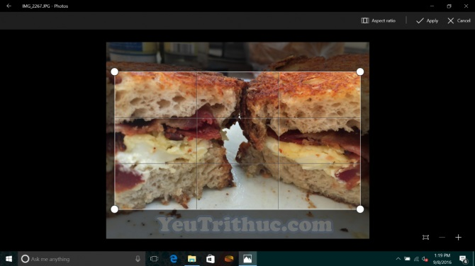 Cách chỉnh ảnh nền vừa fit màn hình desktop trên Windows 10 1