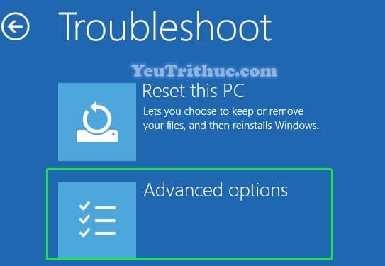 Cách sửa lỗi Repair Windows 10 không khởi động vào hệ thống 2