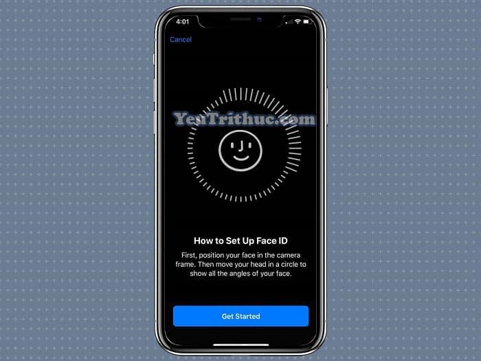 Cách đăng ký, thiết lập cài đặt khuôn mặt Face ID thứ 2 trên iOS 12 6