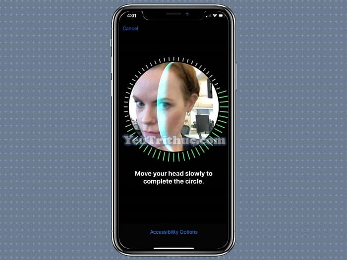 Cách đăng ký, thiết lập cài đặt khuôn mặt Face ID thứ 2 trên iOS 12 8