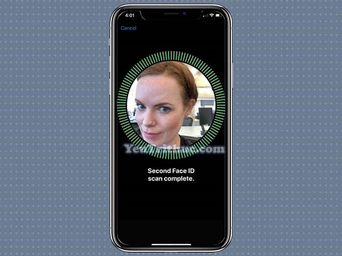 Cách đăng ký, thiết lập cài đặt khuôn mặt Face ID thứ 2 trên iOS 12 9