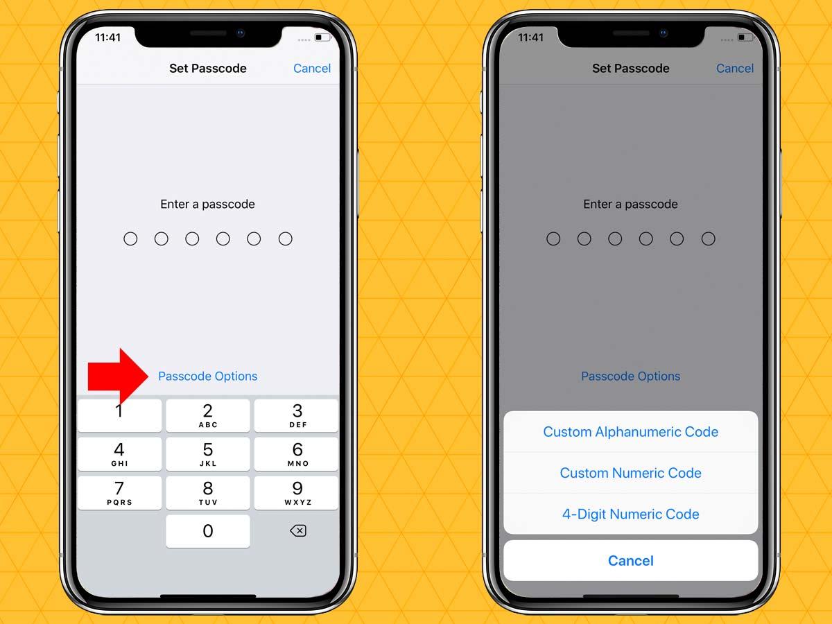 Passcode trên iPhone XR, XS, XS Max 4