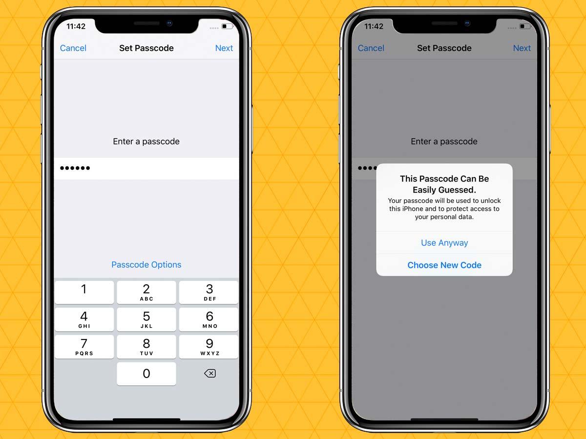 Passcode trên iPhone XR, XS, XS Max 5
