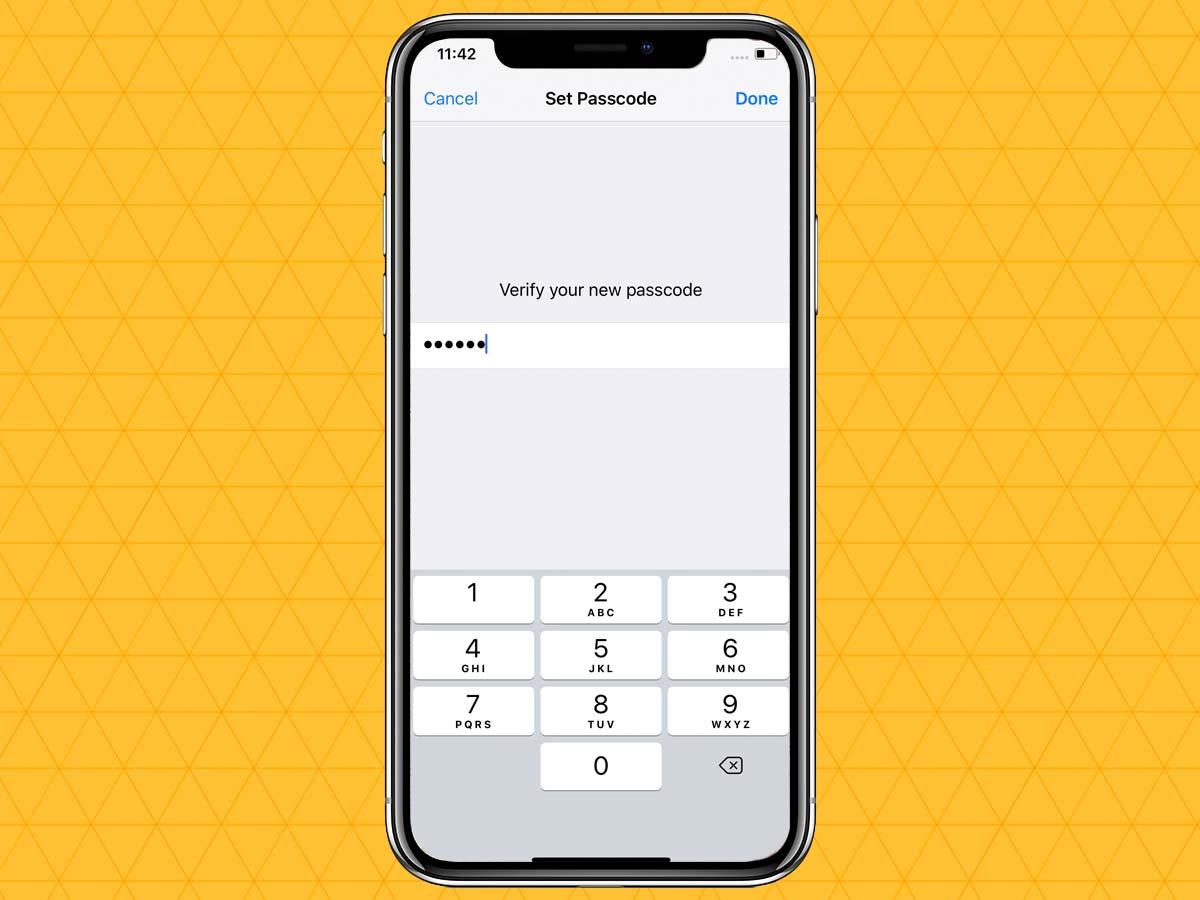 Passcode trên iPhone XR, XS, XS Max 6