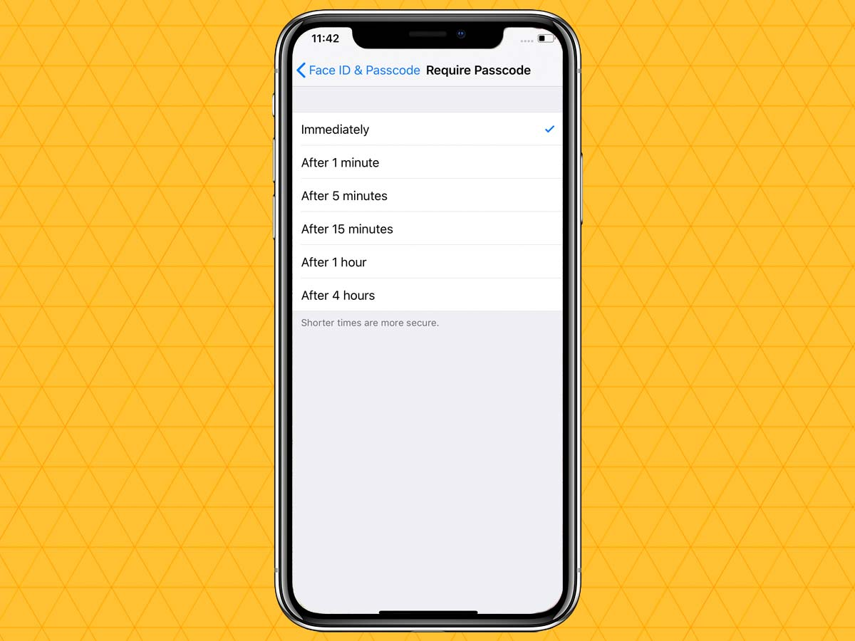Passcode trên iPhone XR, XS, XS Max 7