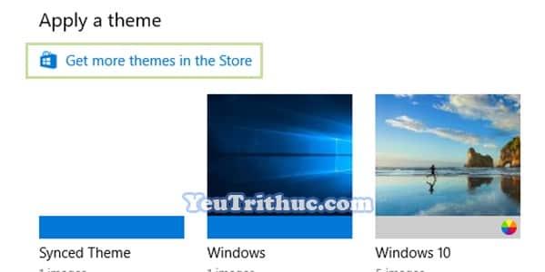 Cách cài đặt Themes cho Windows 10 để đổi giao diện mới 5