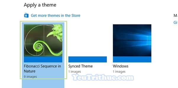 Cách cài đặt Themes cho Windows 10 để đổi giao diện mới 9